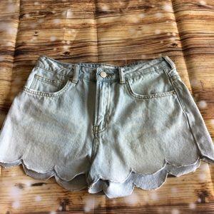 Blu Pepper Jean Shorts